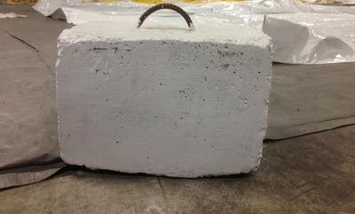 Какой вес куба бетона?