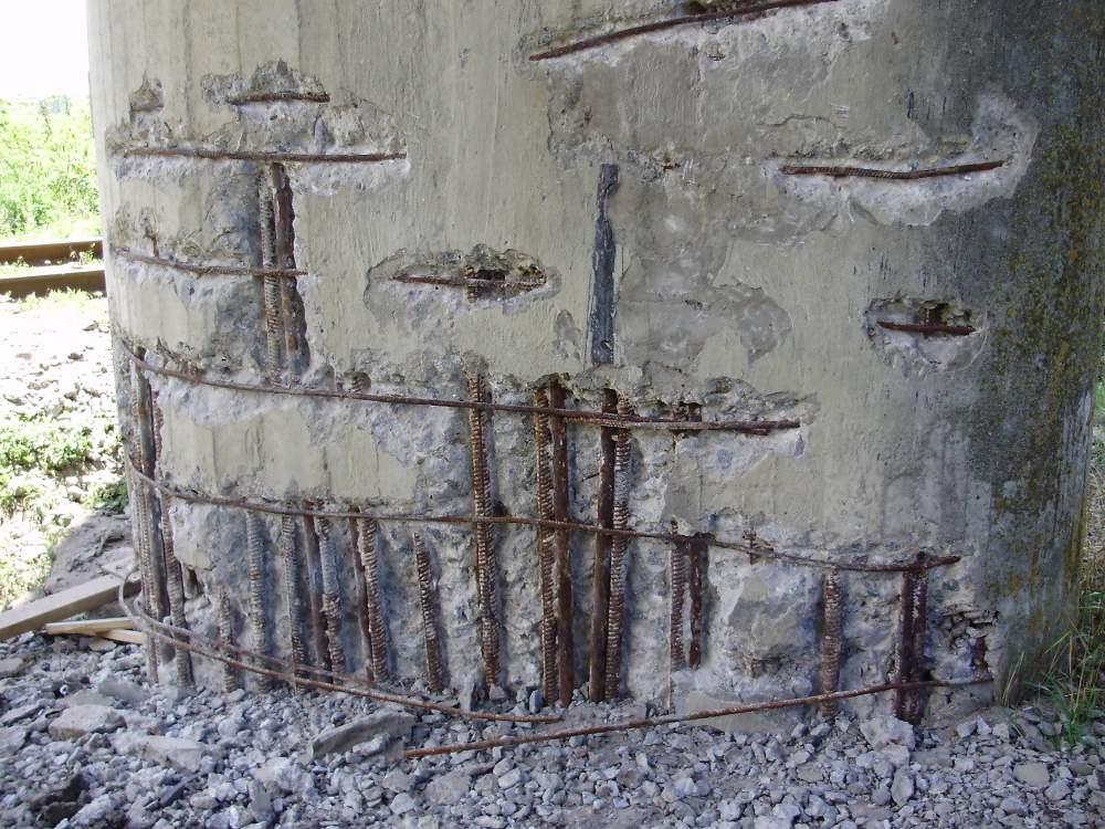 Коррозия и разрушение бетона